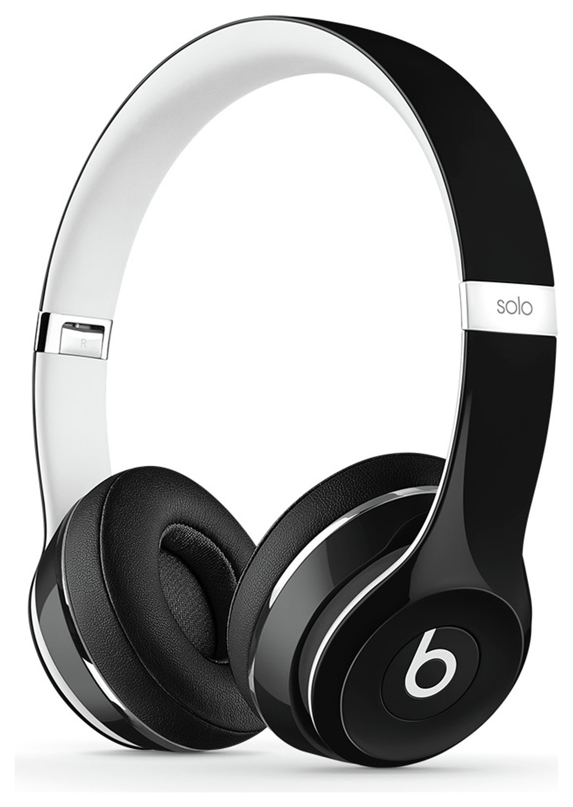 Image of Beats - Solo2 On-Ear Headphones Luxe Edition - Black