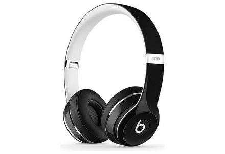 Beats Solo2 On-Ear Headphones Luxe Edition - Black