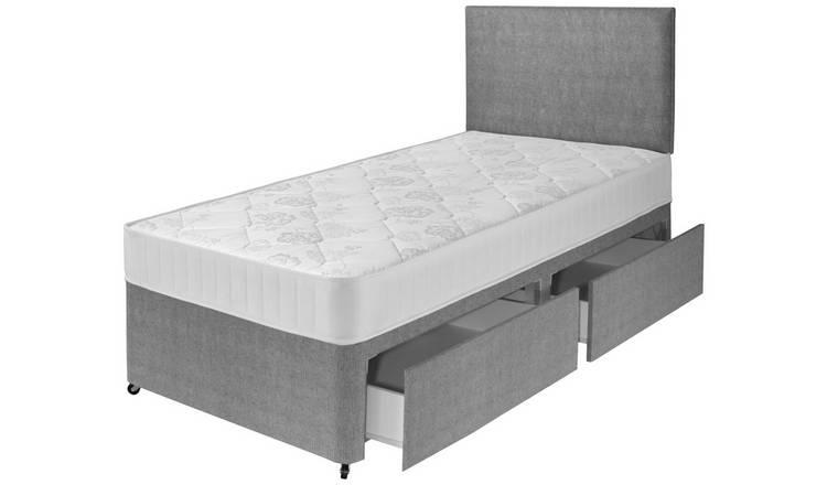 more photos 7a664 0ea12 Buy Airsprung Elmdon Comfort 2 Drawer Divan - Single | Divan beds | Argos