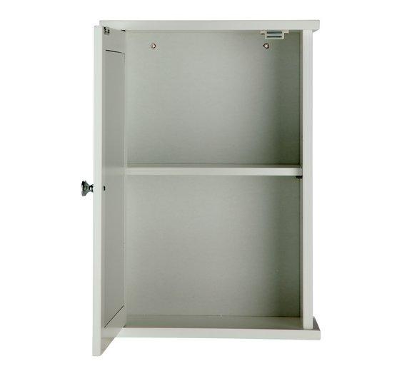 Buy HOME 1 Door Mirrored Classic Core Cabinet