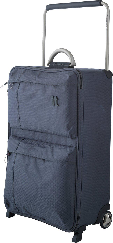 IT World's Lightest Medium 2 Wheel Suitcase & Liquid Bag