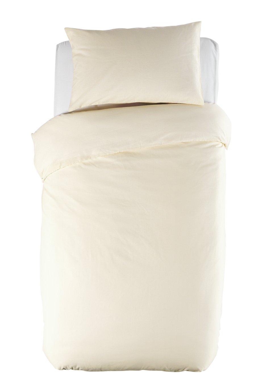 ColourMatch - Cotton Cream - Bedding Set - Single