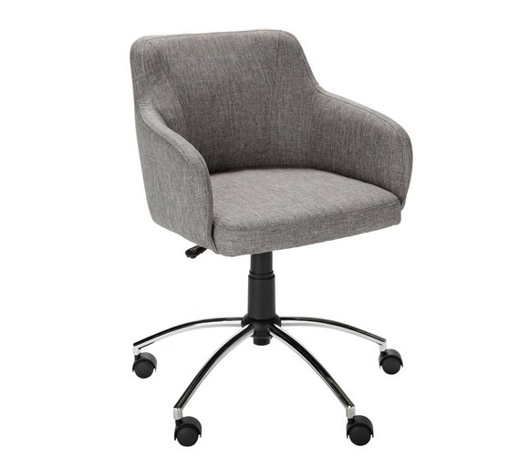 Buy Hygena Sasha Height Adjustable Office Chair Grey At Argosco - Grey office chair