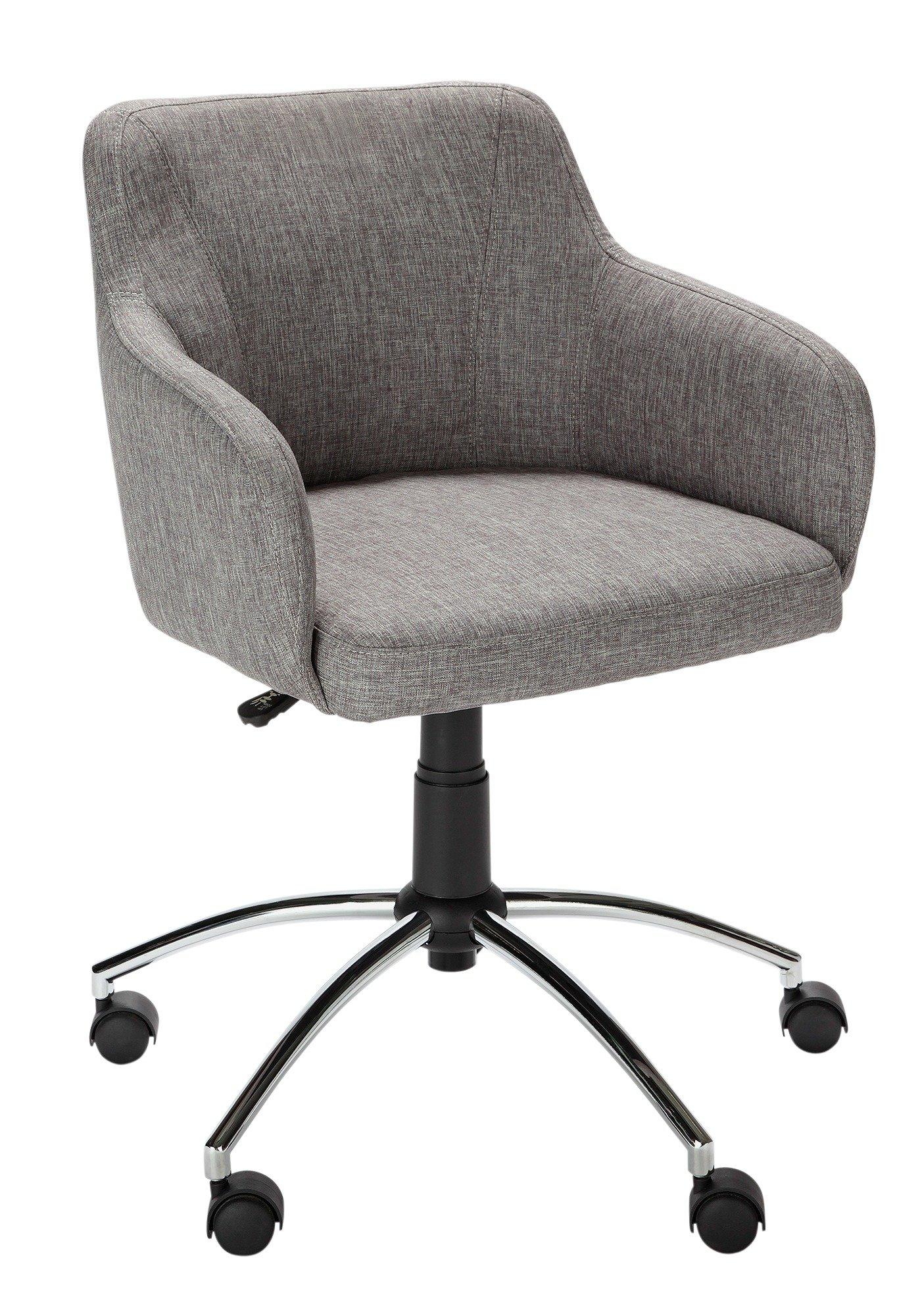buy hygena sasha height adjustable office chair - grey at argos.co