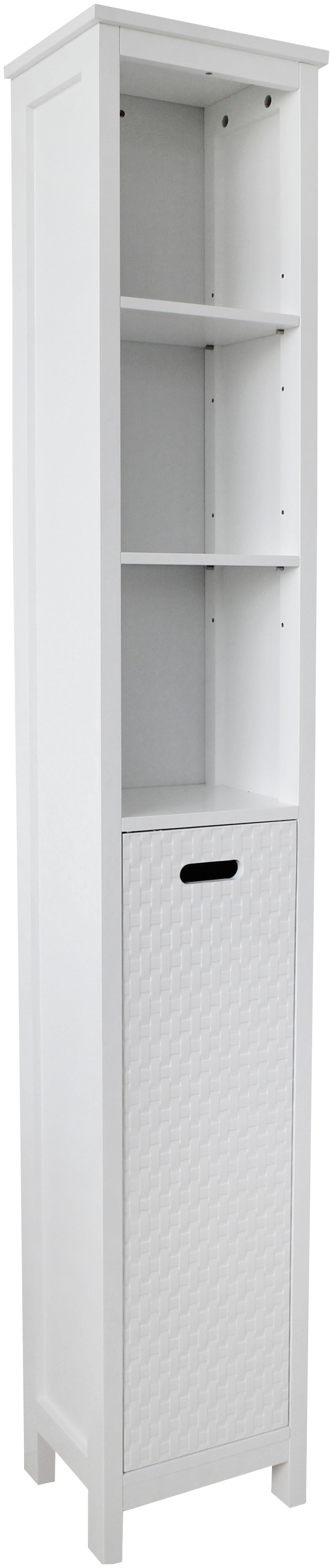HOME Fareham Tall Cabinet - White