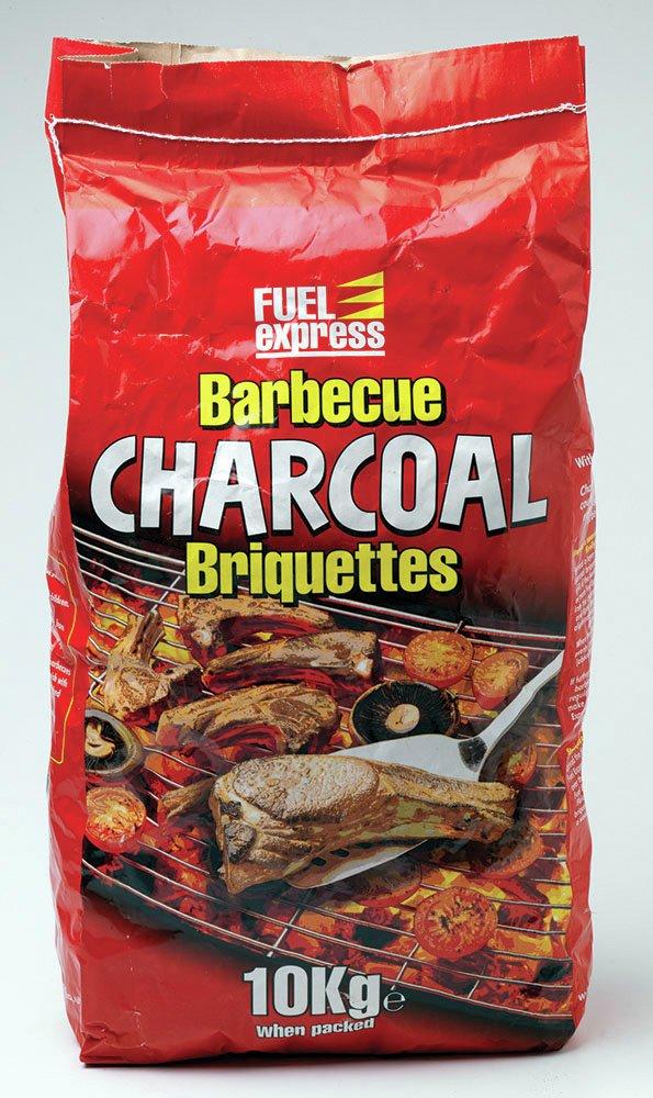 Image of Bag of - BBQ briquettes - 10kg