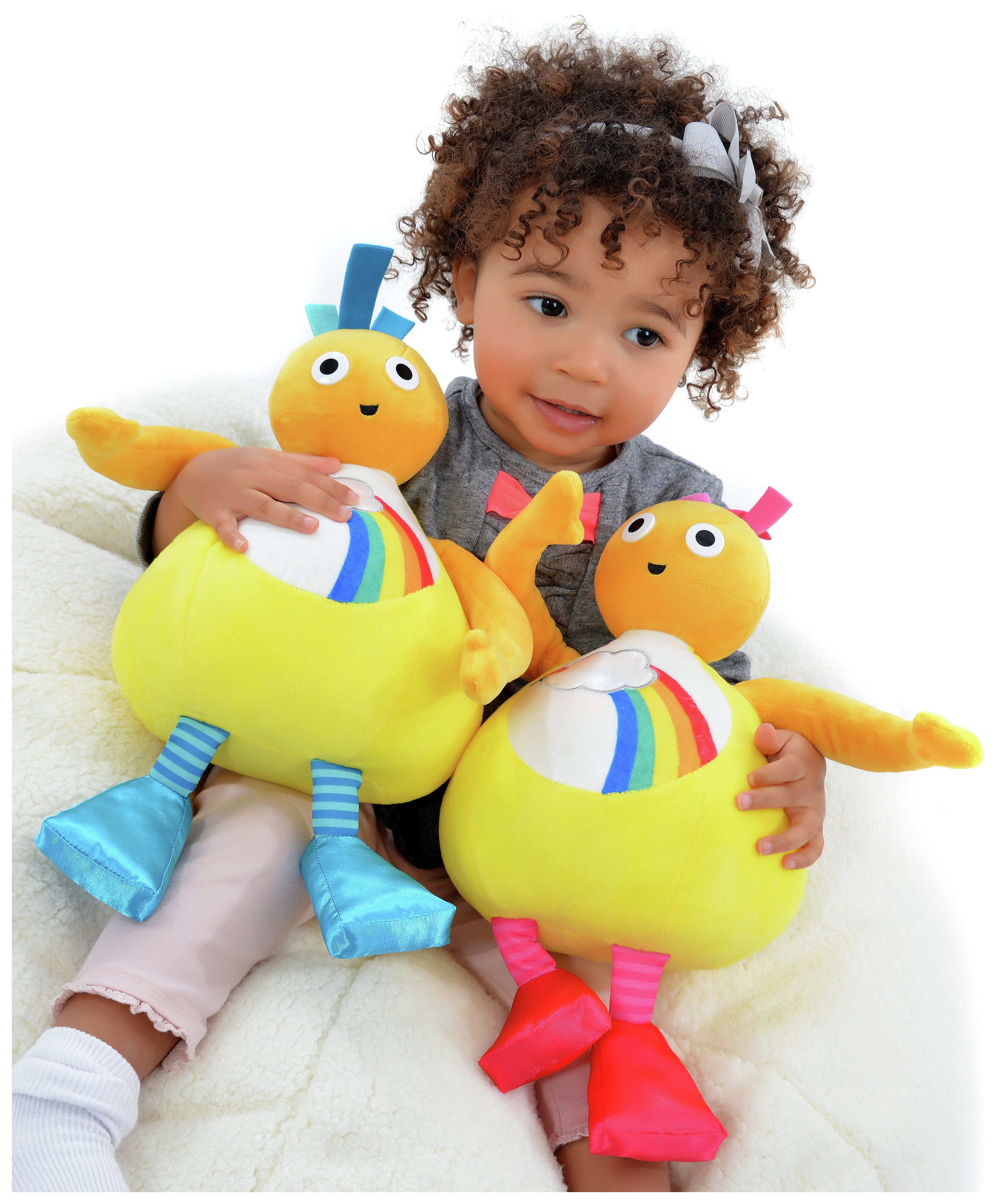 Squishy Mushy Argos : Twirlywoos Interactive Chickedy & Chick Soft Toy Octer ?24.99