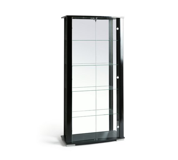 Buy HOME Stella 2 Glass Door Display Cabinet