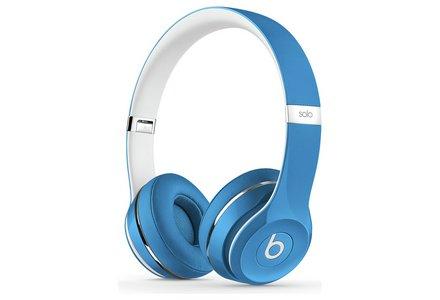 Beats Solo2 On-Ear Headphones Luxe Edition - Blue