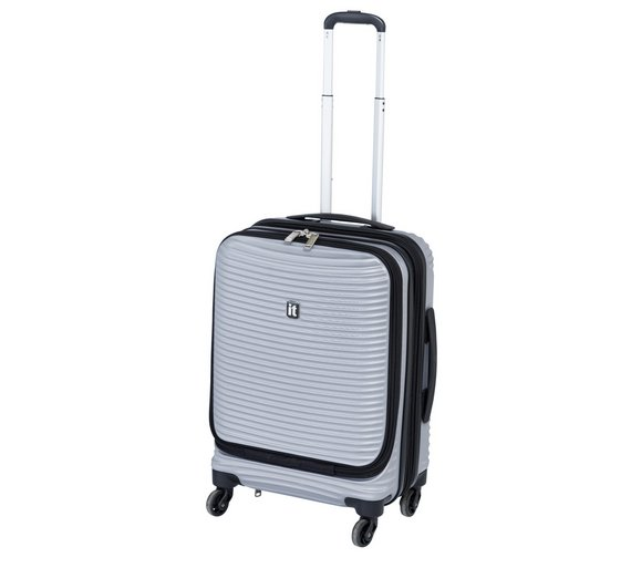 Buy IT Luggage 4 Wheel Hard Cabin Case at Argos.co.uk - Your ...