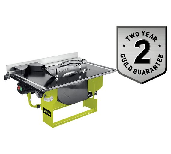 guild table saw 800w the guild table saw is supplied fully. Black Bedroom Furniture Sets. Home Design Ideas