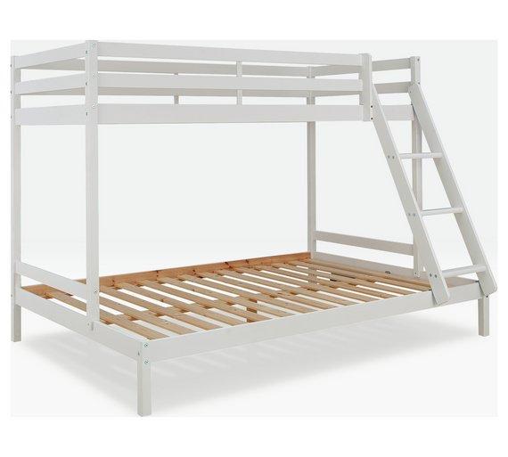 Buy Argos Home Kaycie Triple Bunk Bed With Kids Mattress White