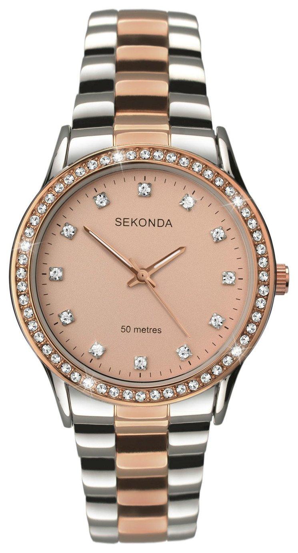 Sekonda Editions Ladies' Two-Tone Bracelet Watch