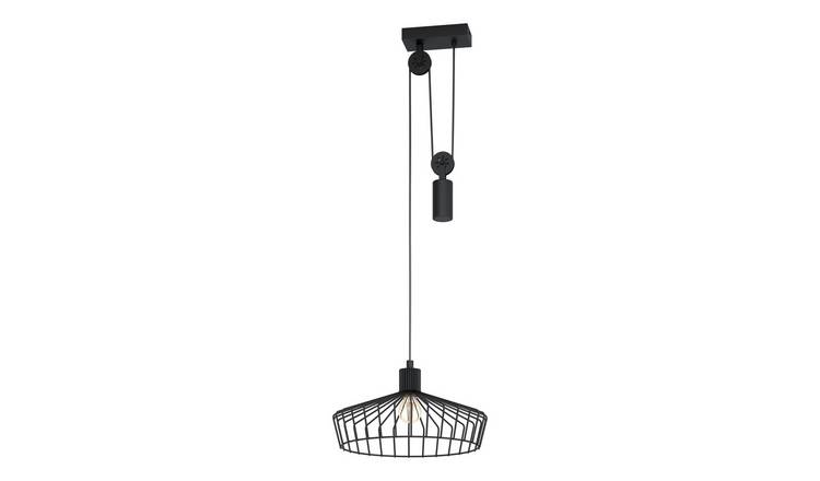 Eglo Winkworth Pendant Light - Black
