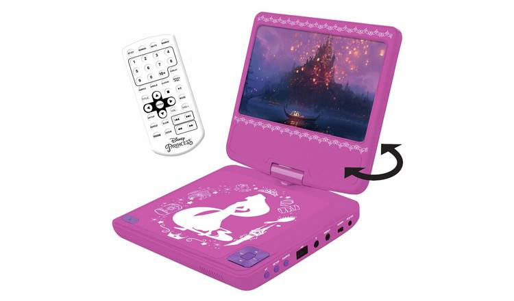 Lexibook Portable DVD Player - Princess