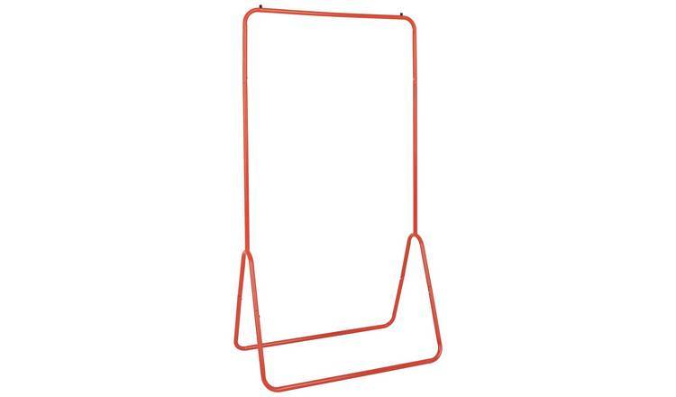 Habitat Arnie Clothes Rail - Red