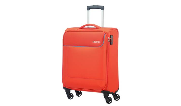 American Tourister Funshine Soft Cabin Suitcase - Orange