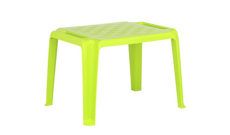 Argos Home Plastic Lime Table