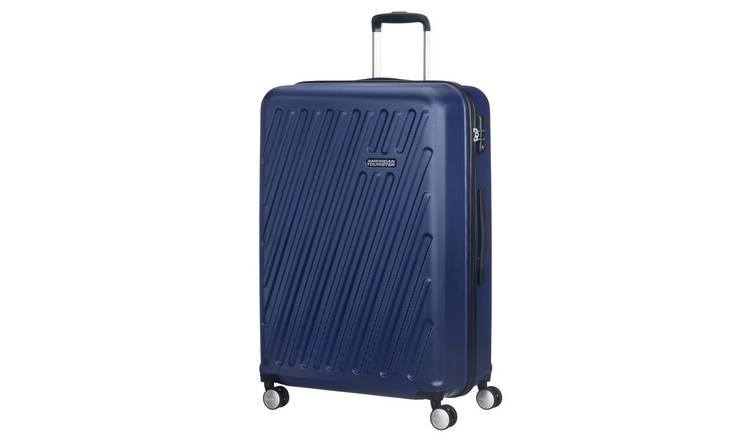 American Tourister Hypercube Hard Large Suitcase - Navy