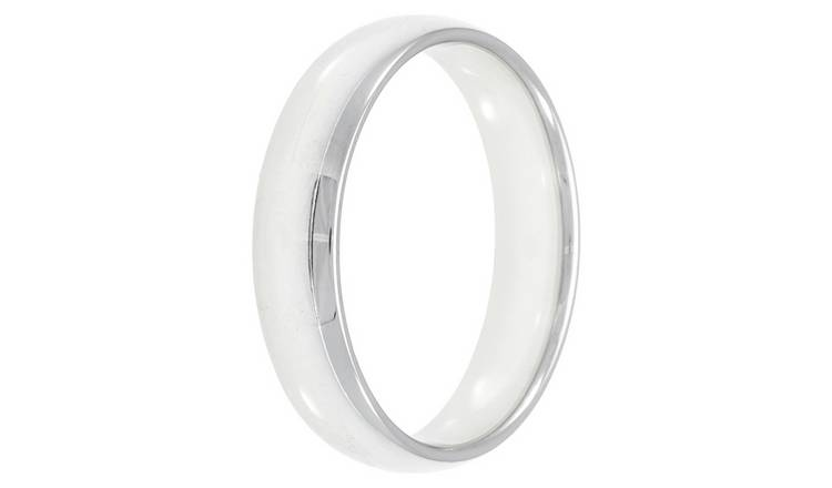 Revere Sterling Silver 5mm Wedding Band - I