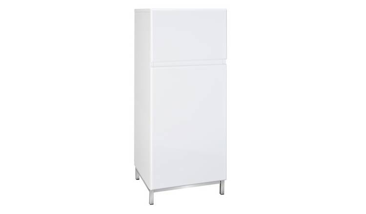 Argos Home Gloss Single Unit - White