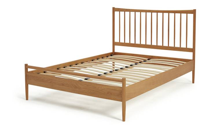 Habitat Chiltern Spindle Double Bed Frame - Oak