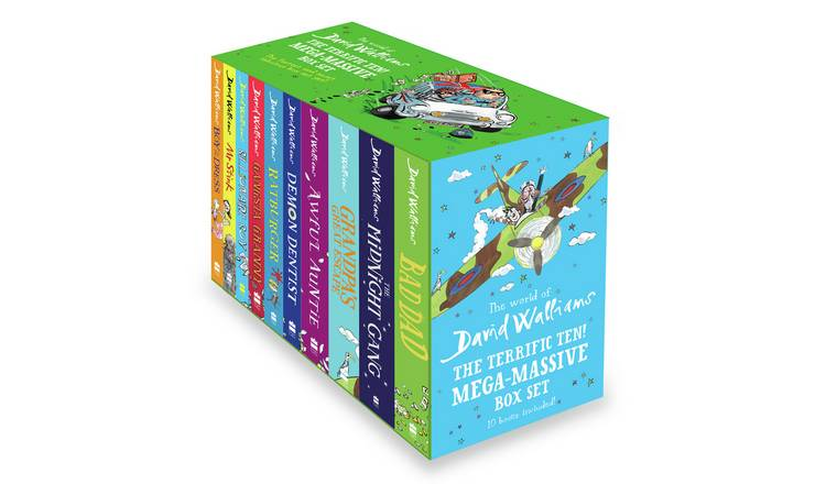 David Walliams The Terrific Ten Book Box Set