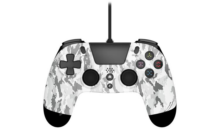 Gioteck VX-4 PS4 Wired Controller - White Camo