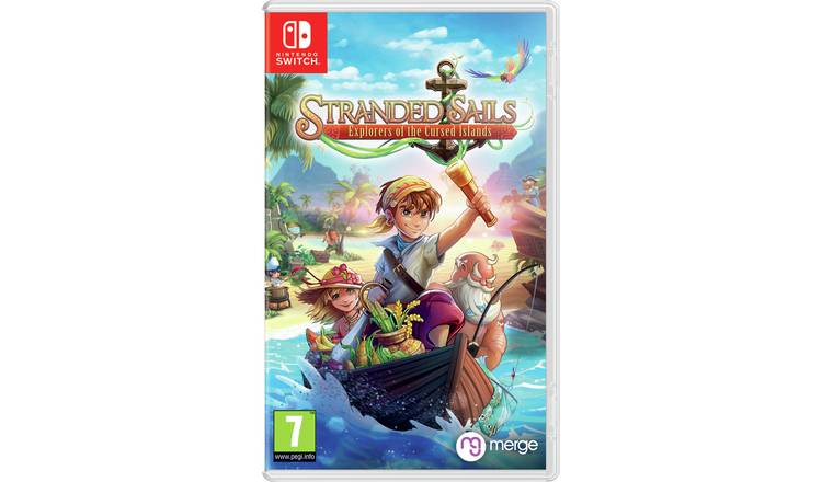 Stranded Sails Nintendo Switch Game