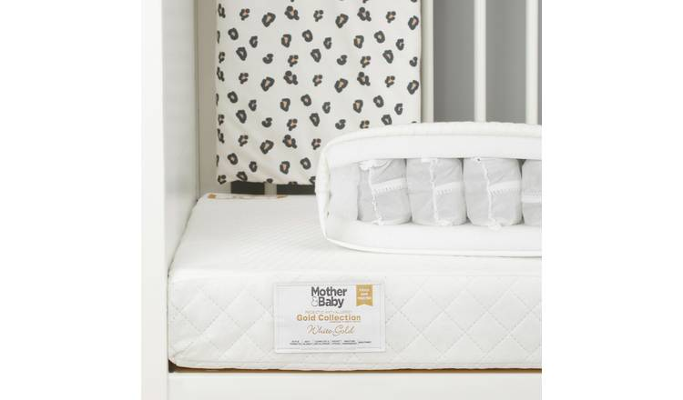 Mother&Baby 140 x 70cm Anti-Allergy Pocket Cot Bed Mattress