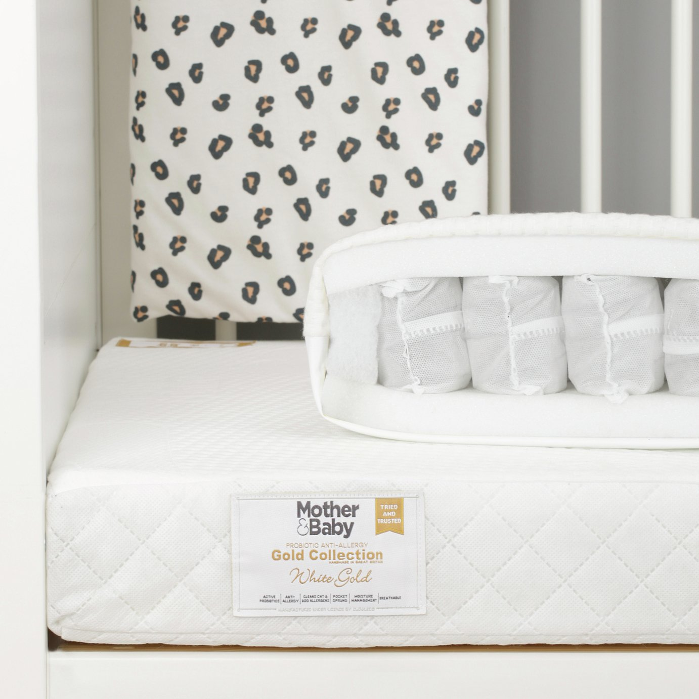 Mother&baby 120 x 60cm anti-allergy pocket cot mattress