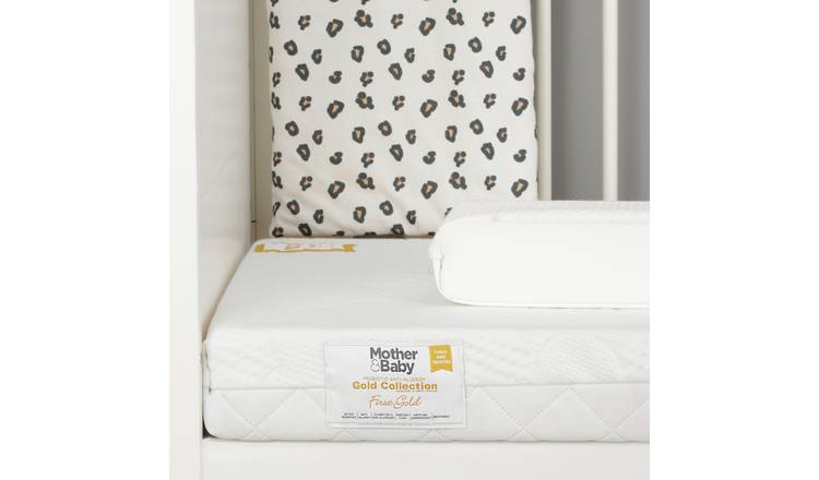Mother&Baby 140 x 70cm Anti-Allergy Foam Cot Bed Mattress