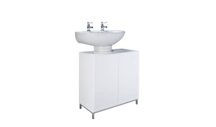 Argos Home Gloss Under Sink Unit - White