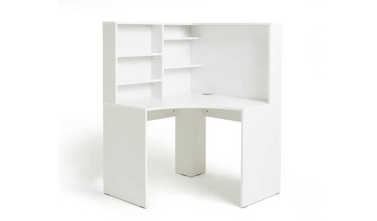 Habitat Pepper Corner Desk - White