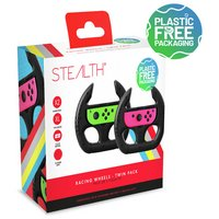 STEALTH Twin Steering Wheels for Nintendo Switch
