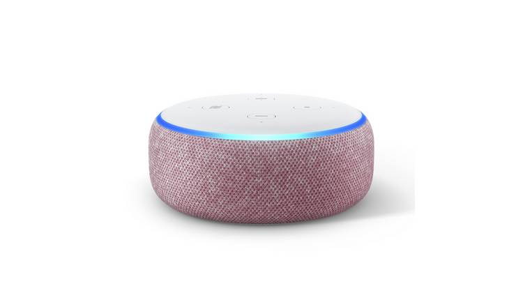 Amazon Echo Dot Smart Speaker with Alexa - Plum