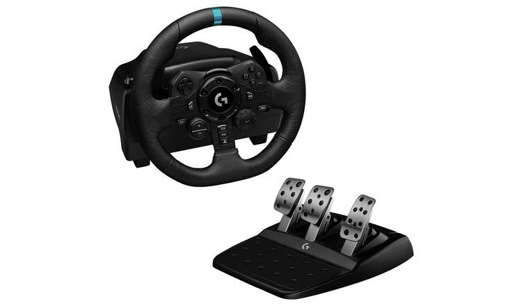 Logitech G923 TrueForce Steering Wheel for PS5, PS4, PC