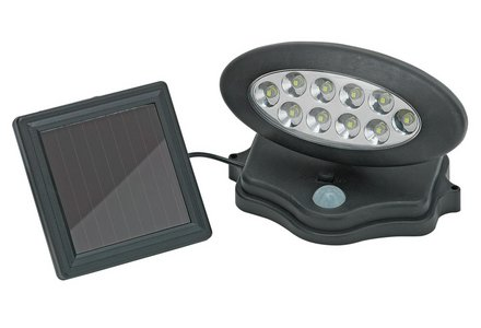 Image of the HOME Solar PIR Security Light.