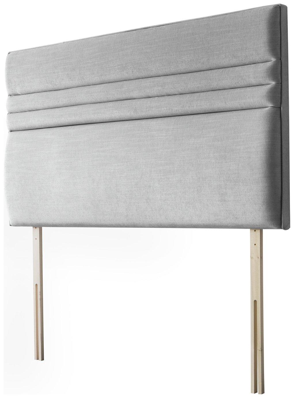 Silentnight Roma Single Headboard - Slate Grey