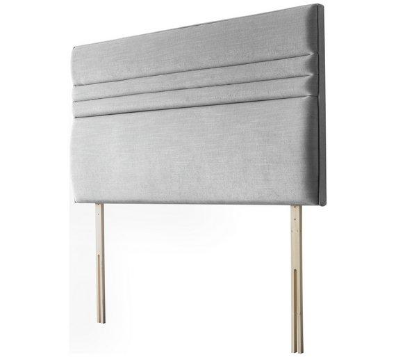 Grey Single Headboard: Buy Silentnight Roma Light Grey Single Headboard At Argos