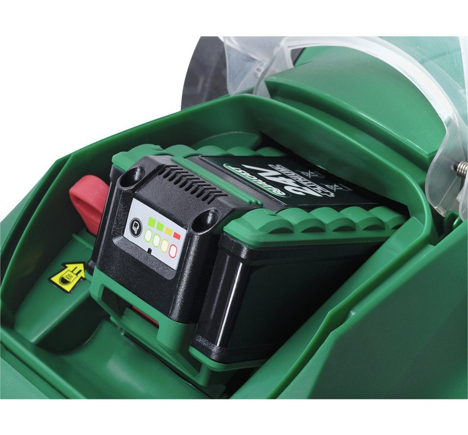 New Qualcast Cordless Electric Lawnmover Amp Grass Trimmer