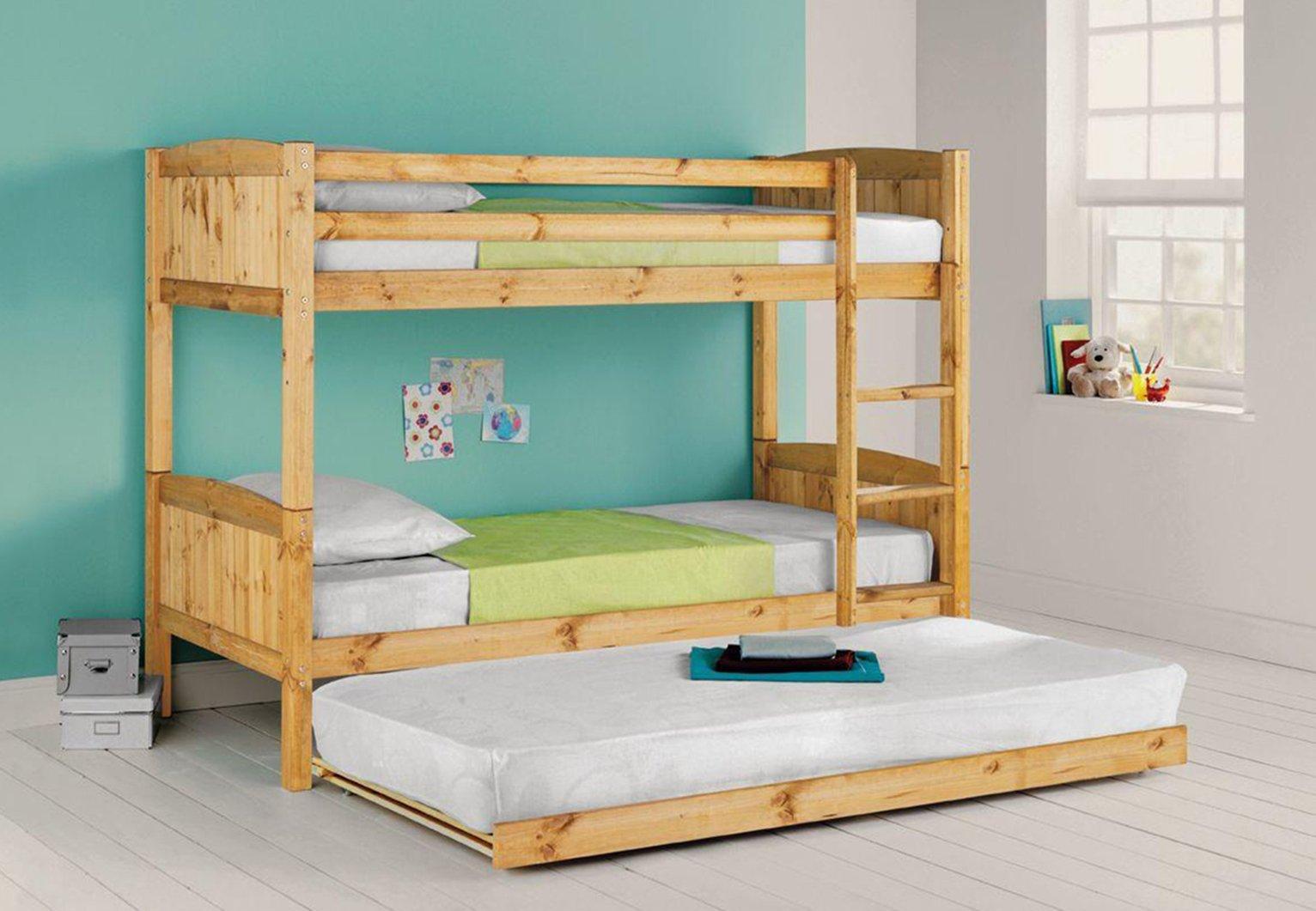 Buy Argos Home Detachable Bunk Bed Trundle Mattress Pine Kids