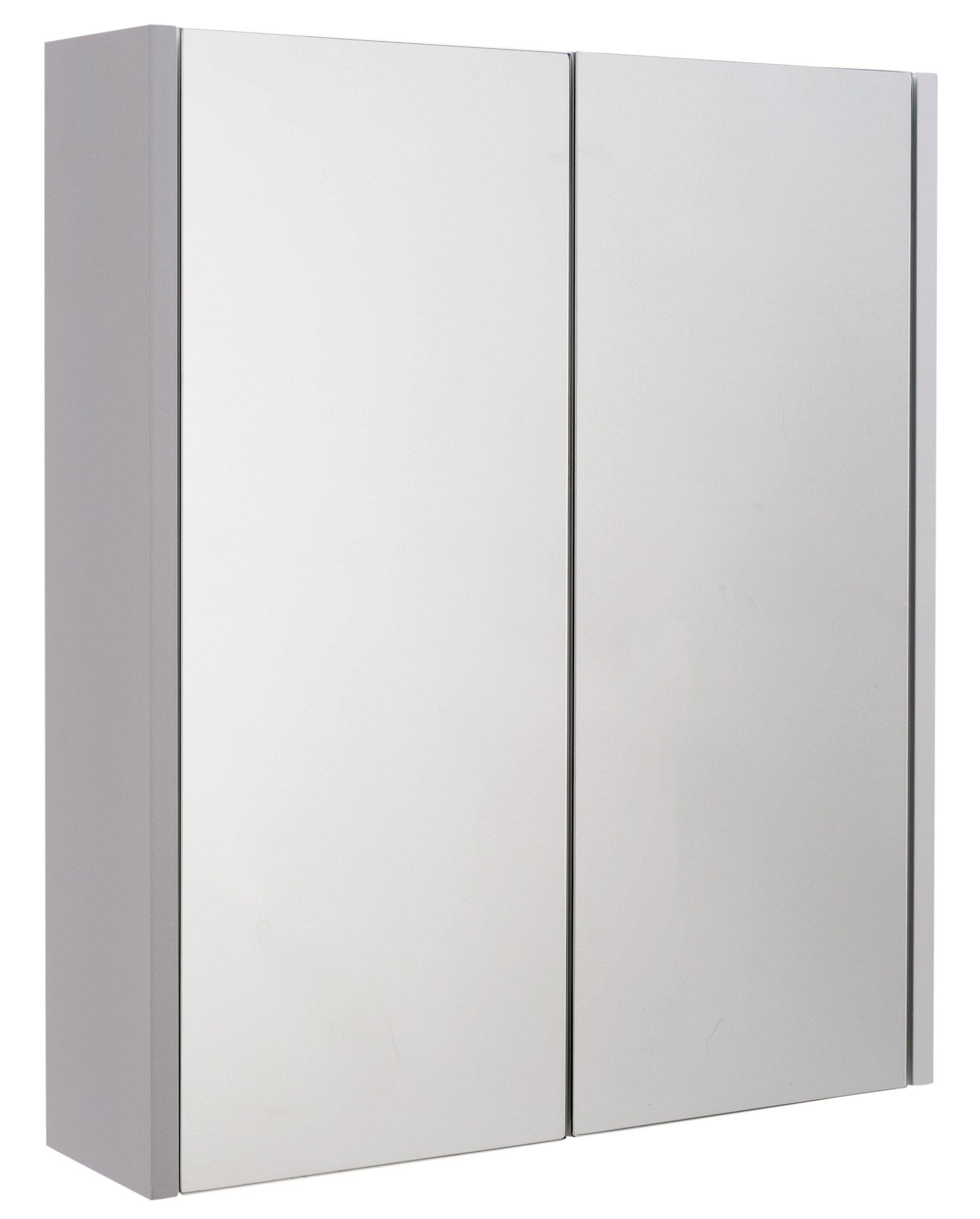 Argos home 2 door mirrored bathroom cabinet