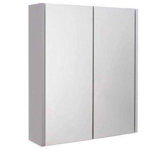 HOME 2 Door Mirrored CabinetBuy HOME 2 Door Mirrored Cabinet at Argos co uk   Your Online Shop  . Round Bathroom Cabinet Uk. Home Design Ideas