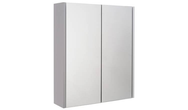 Buy Argos Home 2 Door Mirrored Bathroom Cabinet | Bathroom ...
