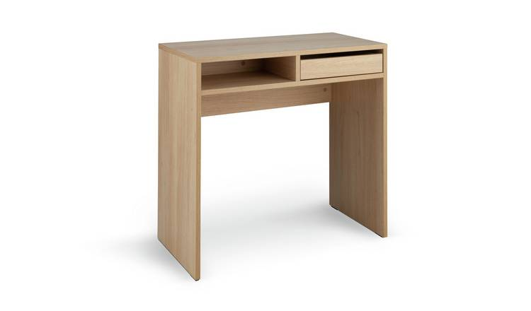 Habitat Pepper 1 Drawer Desk - Oak Effect