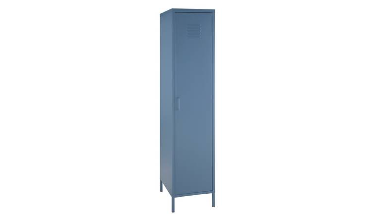Argos Home Tall 1 Door 4 Shelf Locker - Blue