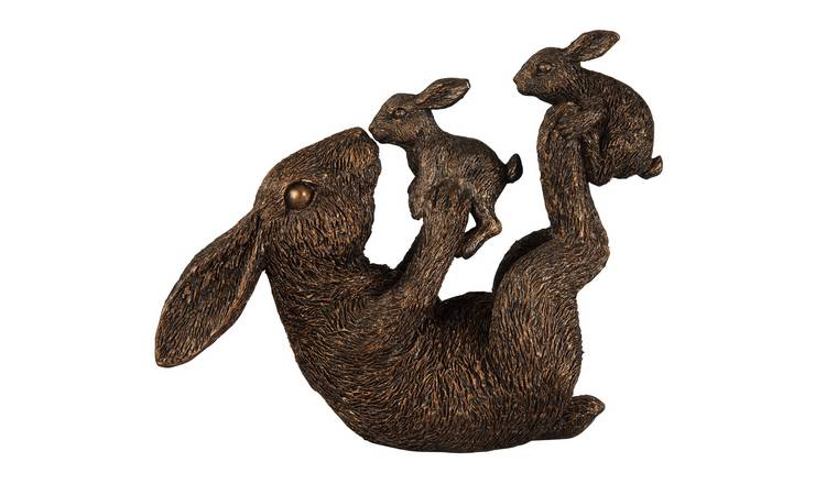 Argos Home Moorlands Hettie Hare and Bunnies Figurine