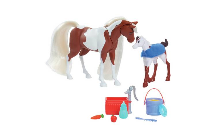 Spirit Feed and Nuzzle Mother & Foal Playset