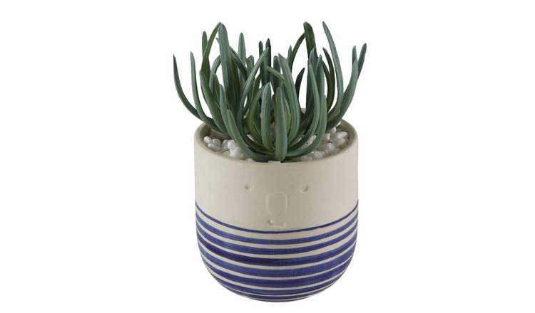 Argos Home Novelty Faux Face Planter